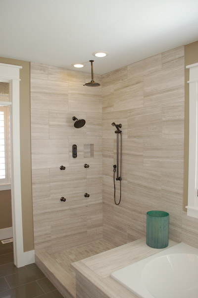 Shower With Ceiling Rain Head ICreatablescom