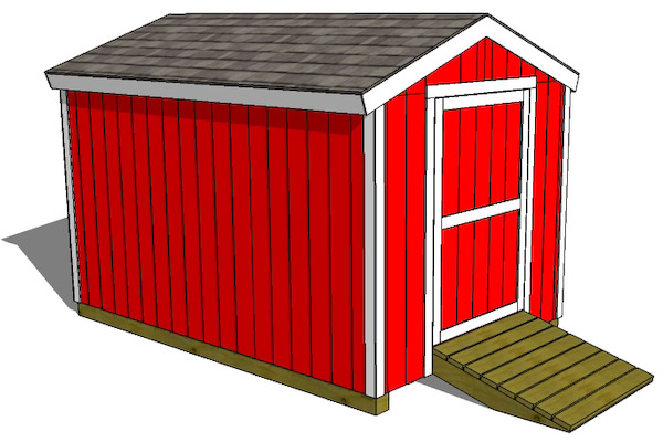 Building Shed Doors Plans