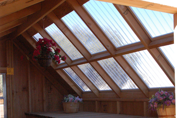greenhouse shed roofing,