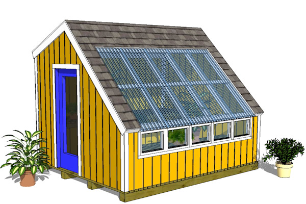 10x12GH Greenhouse Front Large
