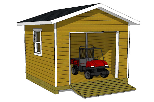 12x12GD-shed-garage-door-4wheeler