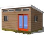 12x16 studio shed model S2