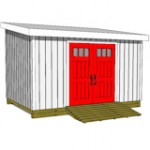 10x14LT-lean-to-shed-front