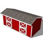 10x20 horse barn