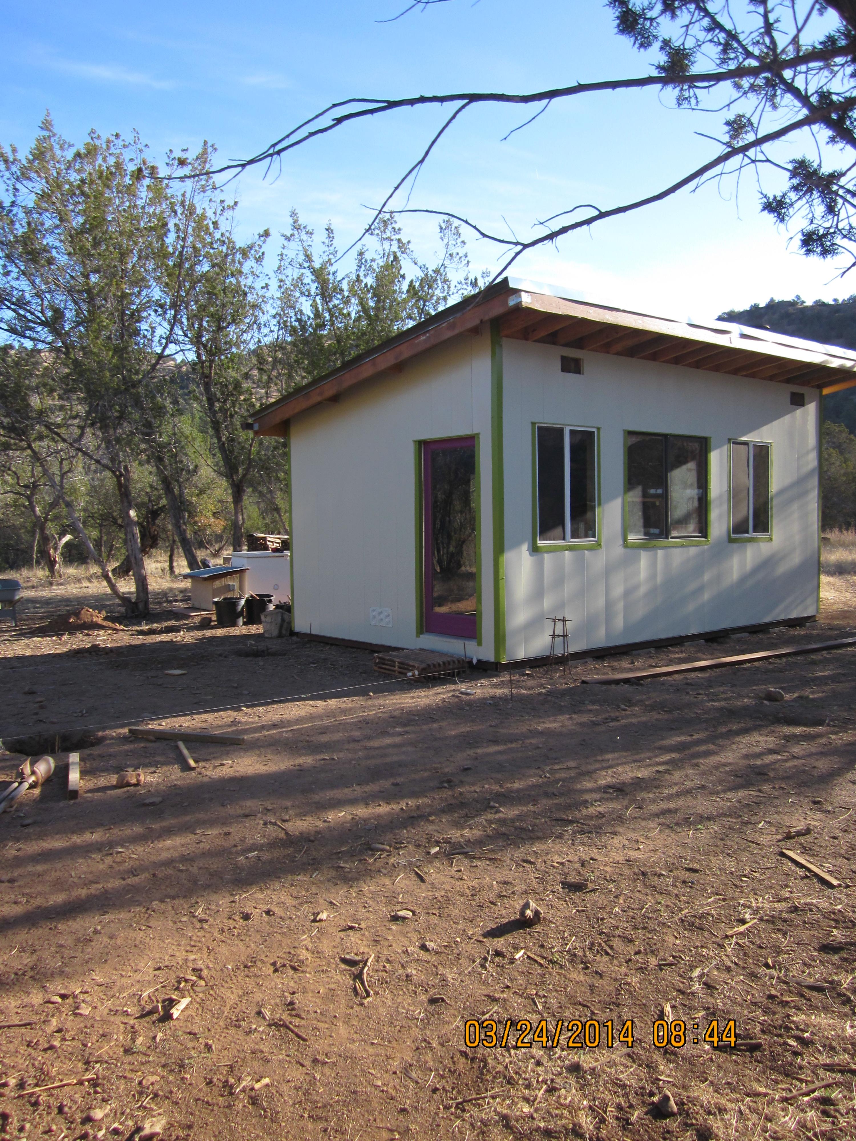12 x 20 modern shed