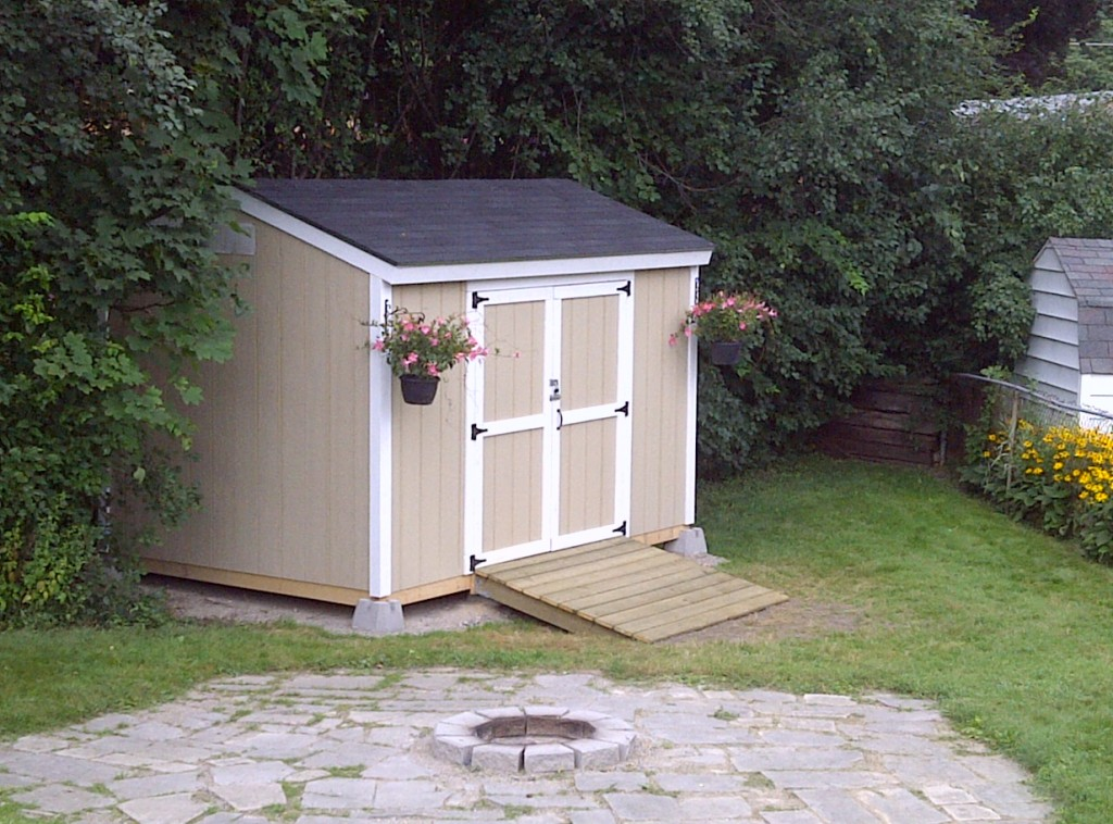 8x12 Backyard storage shed