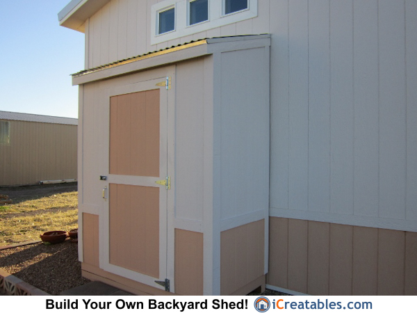 3x6 Lean To Shed Plans Built On The Farm