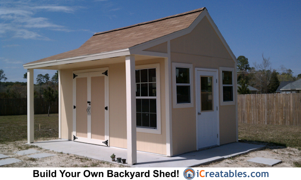 10x16 cape cod shed with porch garden shed design