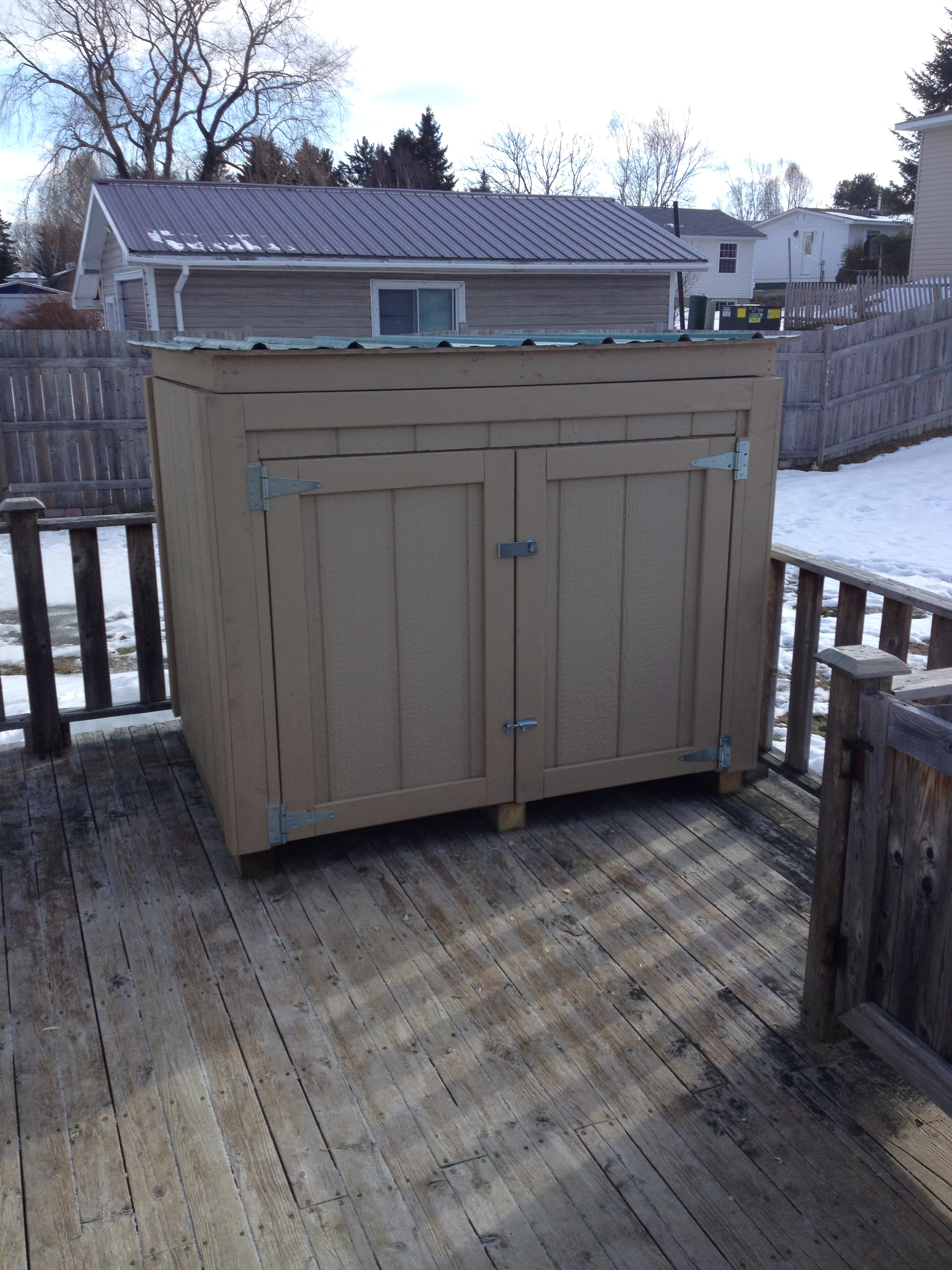 new brunswick to house a backup generator the owner builder said