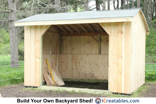 10x14 Run In Shed by iCreatables