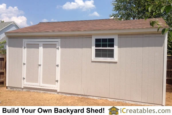 16x24 Large Shed Plans