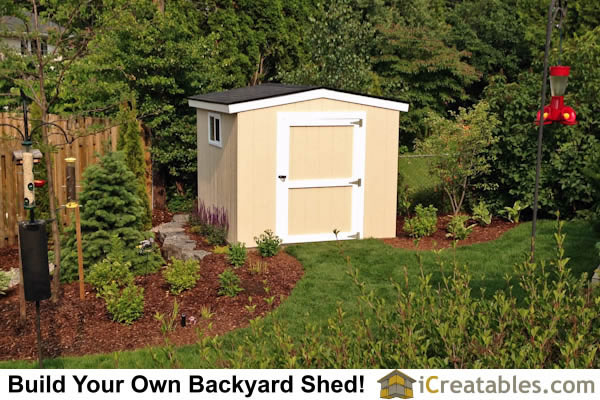 8x8 Backyard Shed