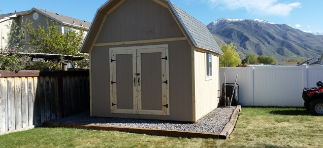 12x14-GB-gambrel-shed-completed-payson-ut