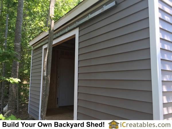 12x16 Backyard Shed Built In Clayton North Carolina