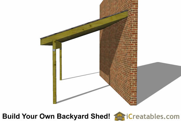 8x16 lean to shed plans