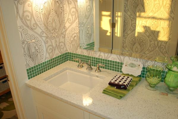 Beautiful ... Throughout Bathroom Backsplash Tiles Part 28