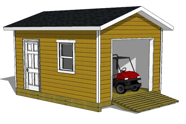 12 16 shed plans with garage door for 14 foot tall garage door
