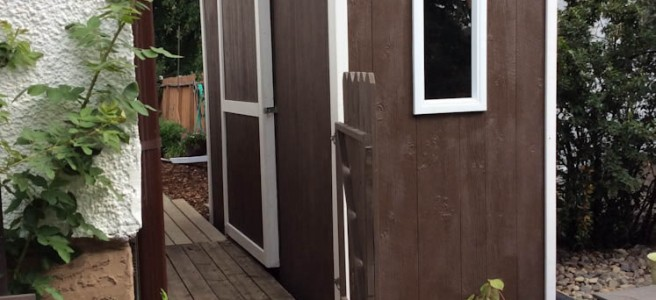 Pent Roof Lean To Shed Built In Canada Icreatables Com