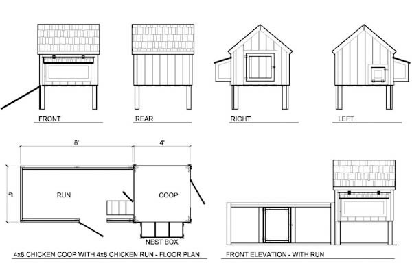 Chicken Coop Plans Free on large dog house plans