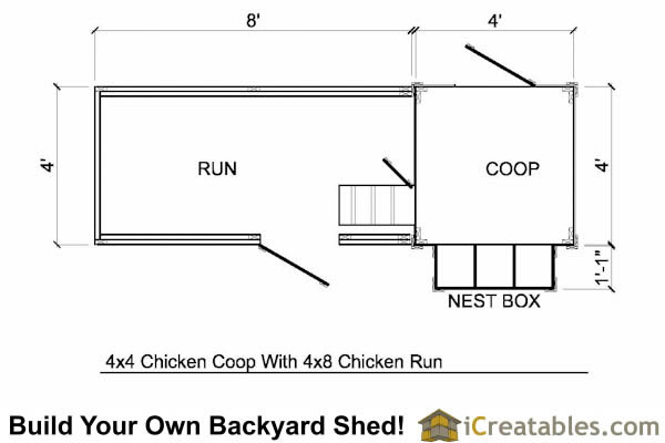 Free Chicken Coop Plans For 6 Chickens