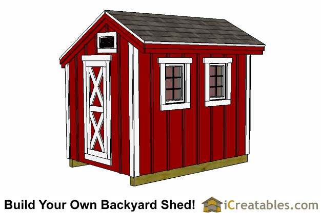 Chicken Coop Plans DIY Lean To Gable Roof Chicken Coops – Chicken Coop With Garden Roof Plans