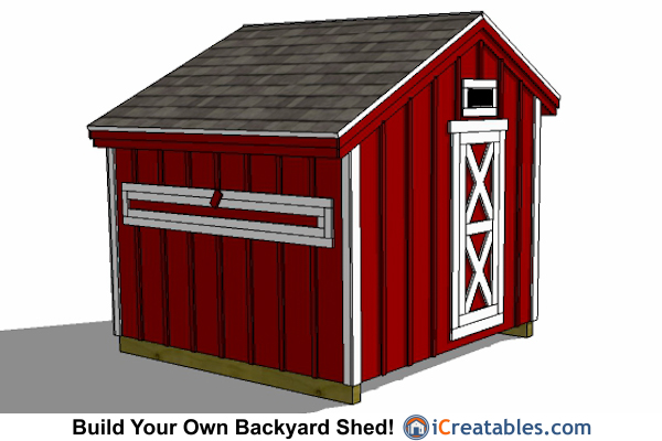 8x8 Chicken Coop Plans Large Chicken Coop Plans