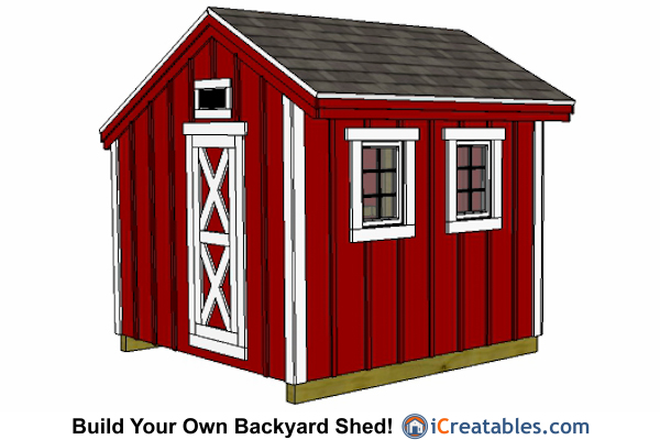 12x14 Shed Plans 10x14 Modern Shed Plans 10x14 Office