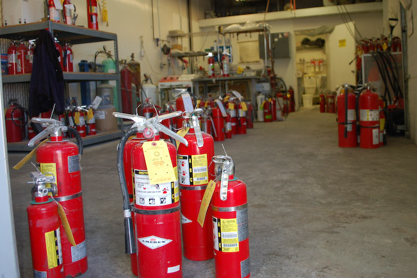 Fire Extinguisher Inspection Protect Your Shed Workshop