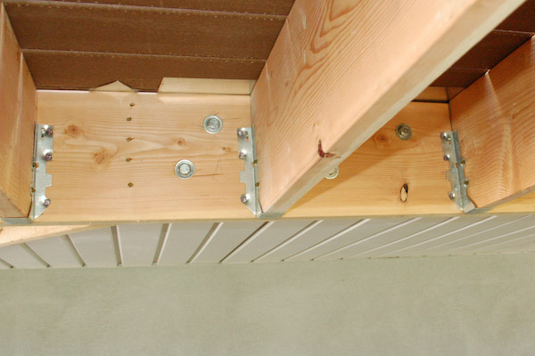 deck ledger bolts