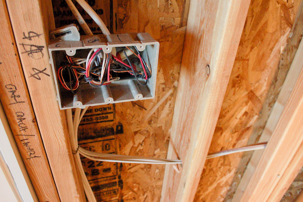 basement electrical wiring