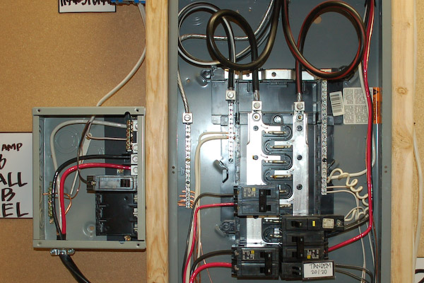Wiring The Wiring And The Back End In The Box That Is Dictating What