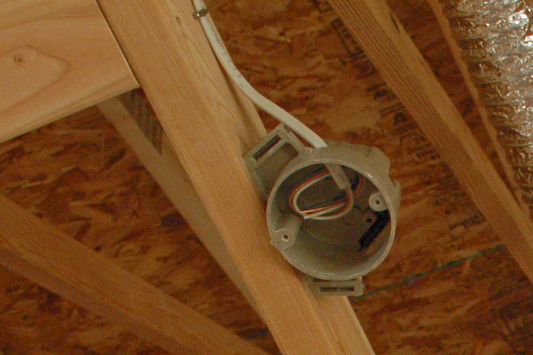 How To Install A Light Fixture Box
