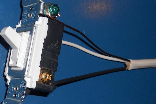 single pole switch for backyard storage shed lighting single pole switch black wire