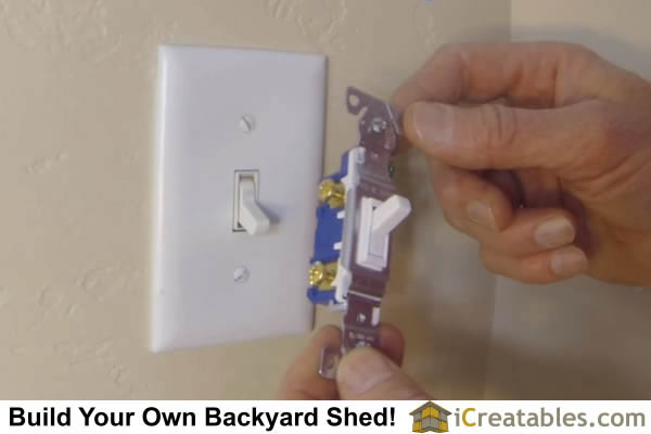 how to replace light switch