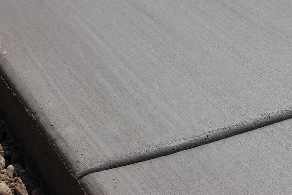 concrete broom finish