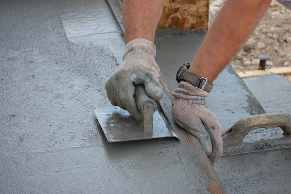 lay concrete slabs, stairs and pads