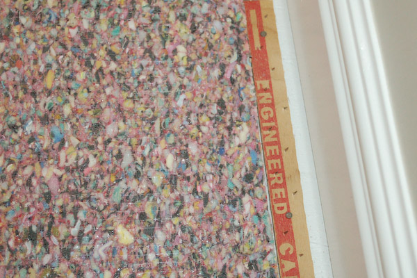 Carpet Pad Gap