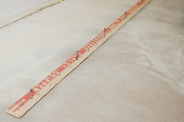 cement Tack strip