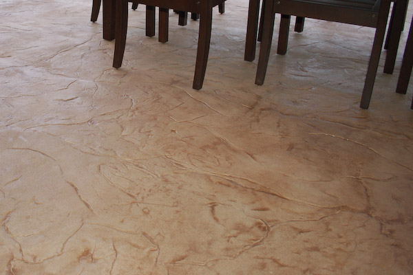 Concrete Overlay Flooring : Shed and basement flooring types stained concrete epoxy