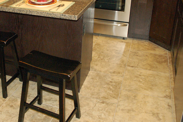 and basement flooring types stained concrete epoxy tile vinyl