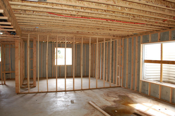 How To Frame A Basement Wall basement framing - how to frame your unfinished basement