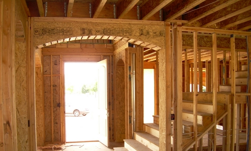 wood framing, basement framing