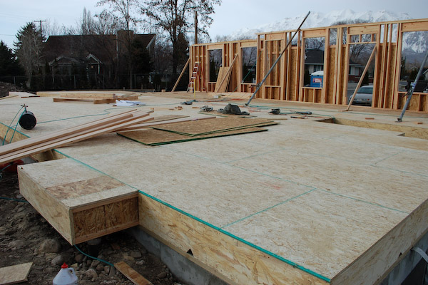 build floor sheeting