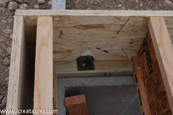 sill plate with anchor bolt floor joist