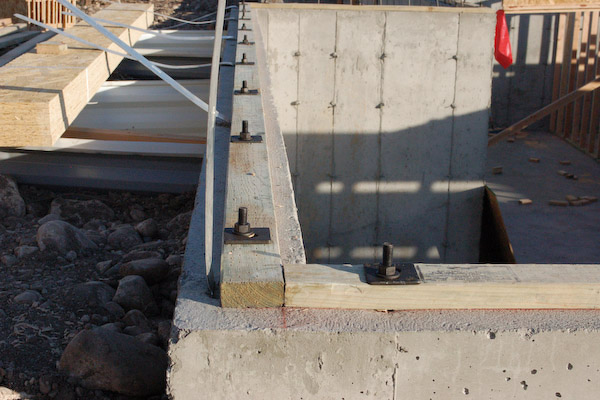 attached sill plate floor