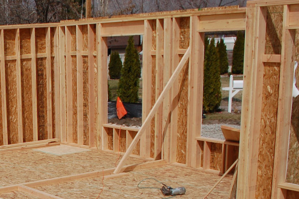 framing exterior wall bracing