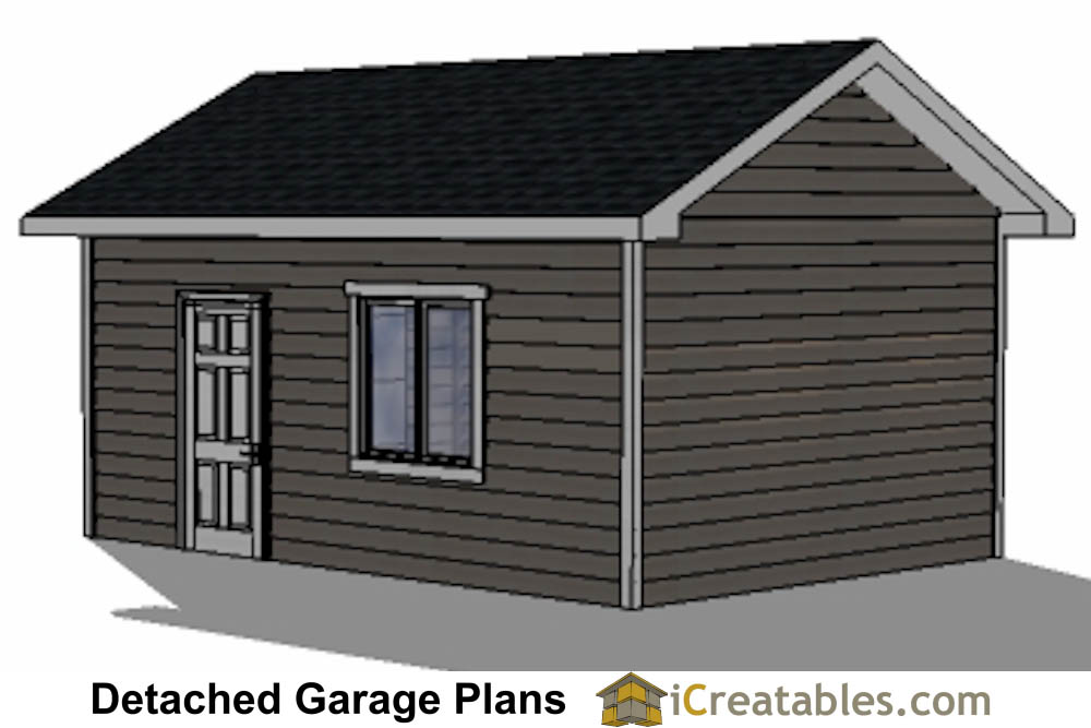 14x20 garage plans 1 car 1 door detached garage plans for 10x14 garage door