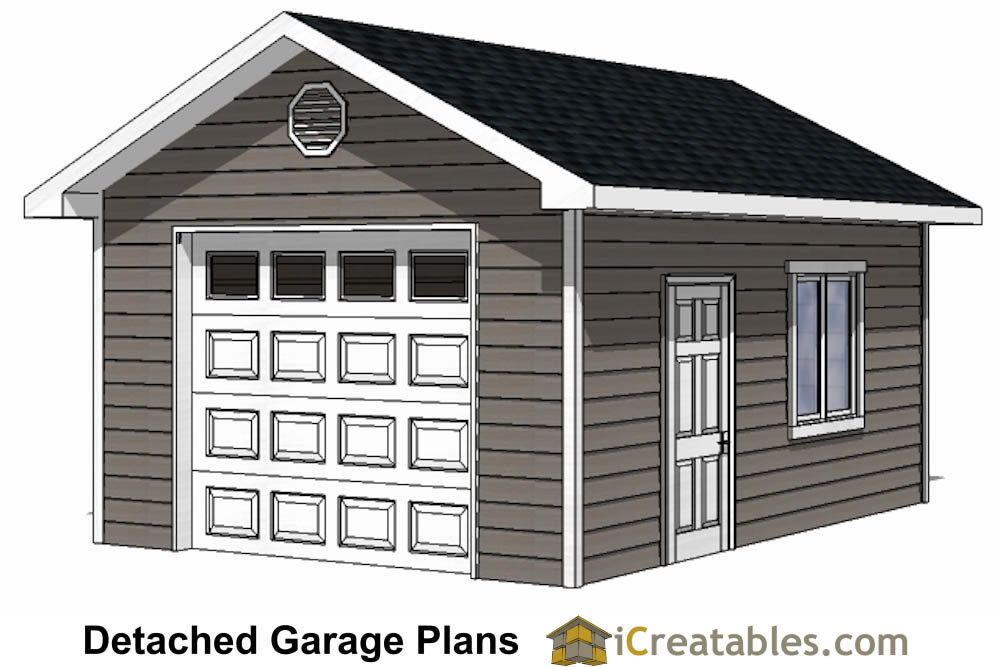 19 pictures one car garage workshop plans architecture for Garage plans with storage