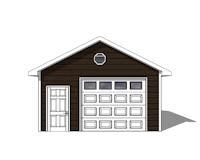 single car garage plans free
