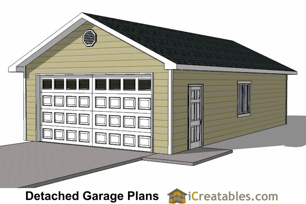 3 Car Garage Plans How to Build a Custom Garage DIY – 3 Car Garage Plans With Loft